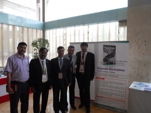 With President Fullerton Securities Mr Pallav Sinha, Training Head PVR Cinemas Mr Arun Ray & Chairman NIRC of ICAI Mr DD Aggarwal