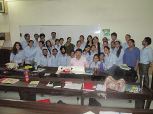 Addressing-Doctors-on-Finance-subjects-at-Chitkara-University-Punjab