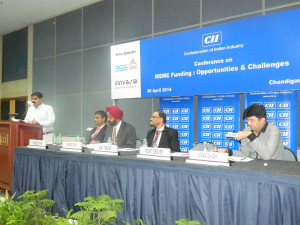 Invited-as-a-key-Speaker-on-CII-and-Sharing-the-Dias-with-Head-BSE-SME-Exchange-Mr-Thakur
