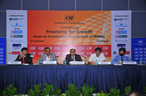 Sharing-the-stage-with-Chairman-and-Vice-Chairman-Regional-committee-MSME-CII,-Regional-Director-CII