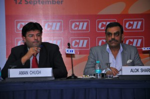 Sharing the stage With Vice Chairman Regional Committee MSME CII