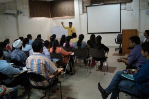 Addressing Young CAs on Technical Analysis at Ludhiana