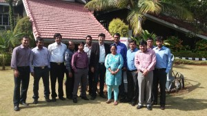 Posing after Consultancy Sessions to Senior CAs of HPCL on Foreign Exchange Derivatives at Pune