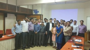 Posing after Consultancy Sessions to Senior CAs of HPCL on their Risk Management Policy at Pune