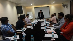 Aman Chugh addressing Reputed MSMEs Finance Professionals on Currency