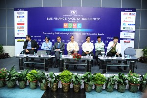 CA Aman Chugh shares the CII forum with Director RBI, Director MSME and others