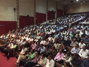 Glimpse of Audience at the event
