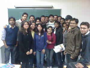 Aman Chugh amongst students-3