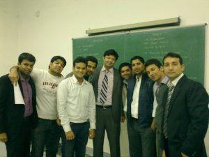 Aman Chugh amongst students-4