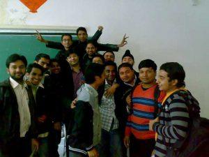 Aman Chugh amongst students-5