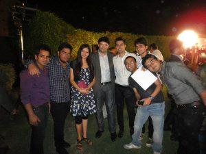 Aman Chugh amongst the students-10