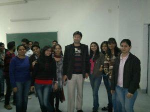Aman Chugh amongst the students-6