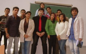 Aman Chugh amongst the students-7