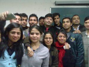 Aman Chugh amongst the students-8