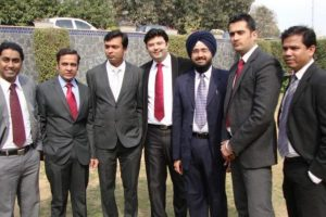 Aman Chugh amongst the students-9