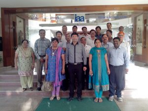 Consultancy session to Senior Management People across India of Indian Aviation Academy on Financial Derivatives.